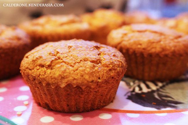 Muffin Cocco e Zenzero